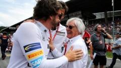 Екълстоун: Алонсо е един от най-добрите пилоти във Формула 1
