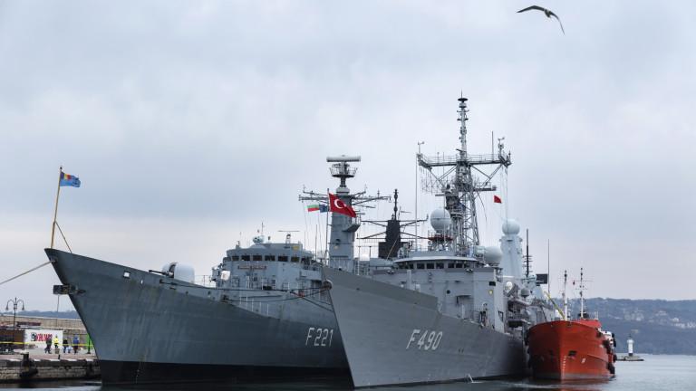 Четири кораба от второ постоянно морско съединение на НАТО и