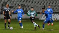 Черно море - Левски 0:0, дискусионно изгонване на Димов