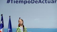 """Грета Тунберг обвини политиците и бизнеса, че """"тупат топката"""" с климатичната криза"""