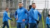Левски с последна тренировка преди мача с Локомотив в Пловдив