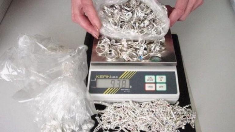 """Иззеха над 7 кг. контрабандни сребърни бижута при две проверки на """"Лесово"""""""