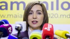 Мая Санду положи клетва като президент на Молдова