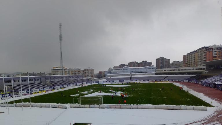 """Стадион """"Ивайло"""" е готов за Етър - Левски"""