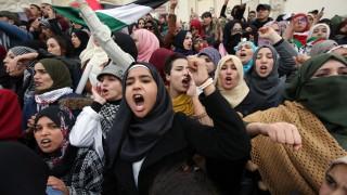 91% от палестинците възприемат решението на САЩ за Йерусалим като заплаха