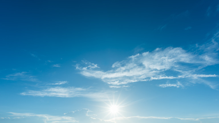 Слънчево с лека облачност