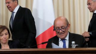 Френският външен министър иска Западът и Франция да говорят с Путин за Сирия