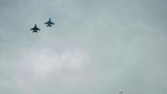 Два самолета Ф-16 се сблъскаха в САЩ