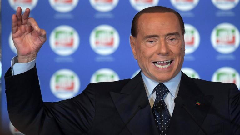 """Движение """"Пет звезди"""" обвини Берлускони във връзки с Коза ностра"""