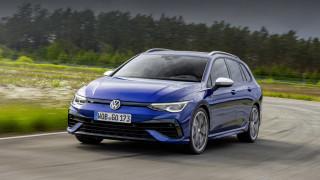 Спортният Volkswagen Golf R вече и в комби вариант (Видео)