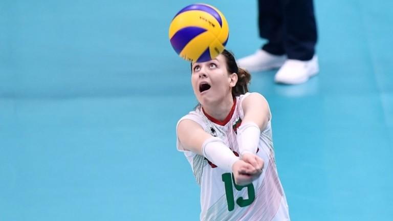 Либерото на дамския национален отбор по волейбол Жана Тодорова попадна