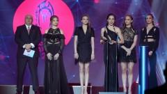 Грациите от ансамбъла по художествена гимнастика са Отбор на годината