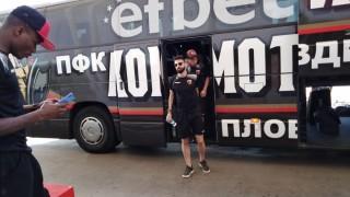 Локомотив (Пд) отлетя към Франция с надежда за обрат