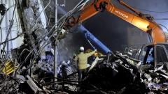Най-малко 150 души са в неизвестност след труса в Тайван