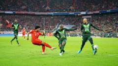Байерн (Мюнхен) с победа в края срещу Волфсбург в последния кръг на Бундеслигата за годината