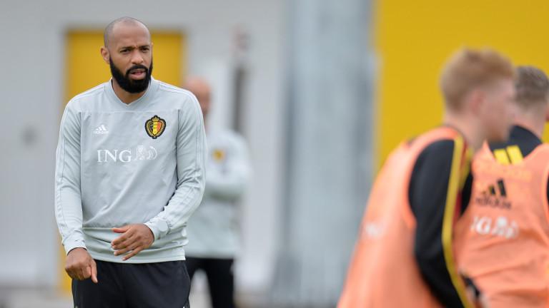 Анри се завръща в щаба на Белгия за Евро 2020
