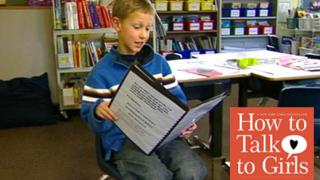 9-годишно момче написа уроци по сваляне на момичета