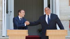 Макрон ни удря рамо за чакалнята на Еврозоната