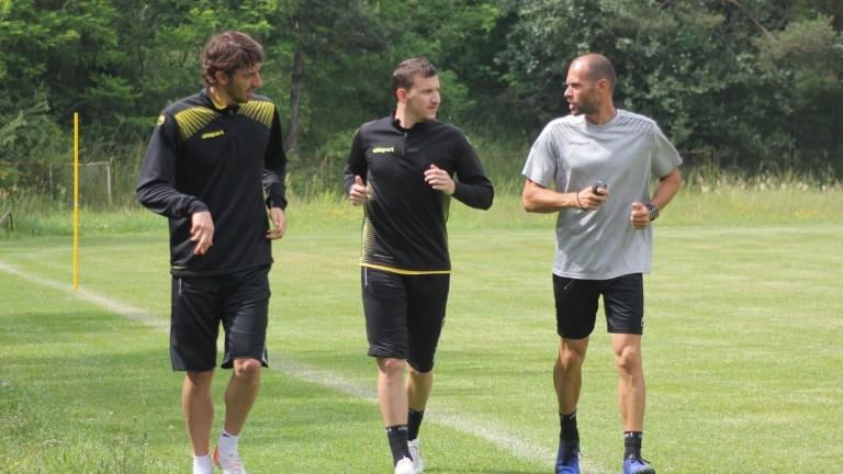 Футболистите на Ботев (Пловдив) и националния отбор на България Тодор