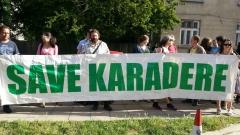 Протест срещу застрояването на Карадере