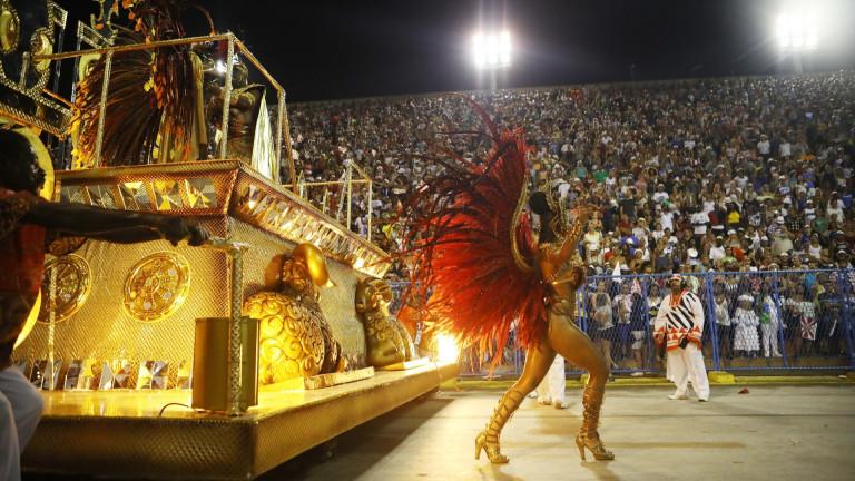 700 метра самба за финала на карнавала в Рио
