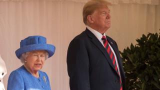 """Британскатакралица и Тръмп обсъждат""""тясно сътрудничество"""" за отваряне на глобалните икономики"""