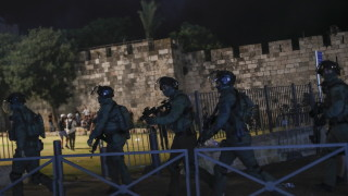 Над 130 ранени при сблъсъците в Йерусалим