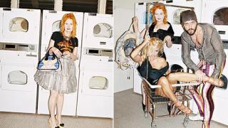 Памела Андерсън в новия каталог на Вивиън Уестууд