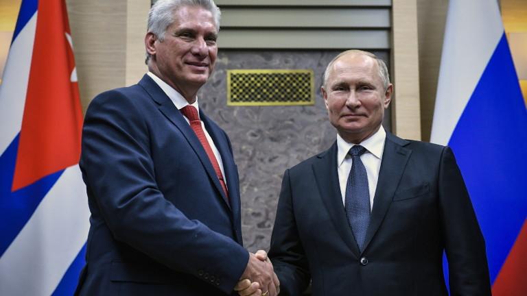 Русия изпрати помощ на Куба след антиправителствените протести