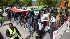 Десетки хиляди протестираха срещу военното управление в Судан