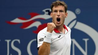 Стана ясен първият полуфиналист на US Open