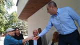 Цветанов лично застава срещу волфрамовата мина във Велинград