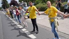 50 000 души от  3 страни протестираха срещу белгийски атомни централи