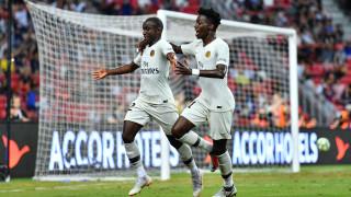 Яростна битка с 5 гола на ПСЖ - Атлетико (Мадрид)