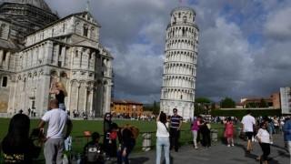 Наклонът на кулата в Пиза е намалял