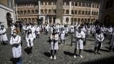Коронавирус: Нов ръст на жертвите и заразените в Италия