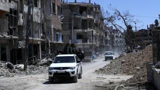 Мисията на ОЗХО пристигна в сирийския град Дума