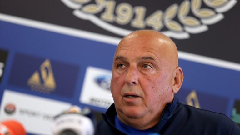 Временният треньор на Левски Георги Тодоров даде пресконференция преди гостуването