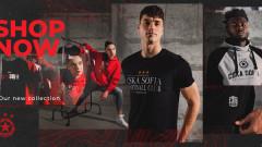 ЦСКА представи част от новата си колекция артикули