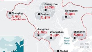 """Китай """"готви"""" град гигант"""