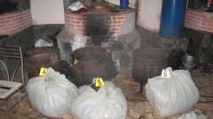 Разбиха нелегална работилница за тютюн край Симитли