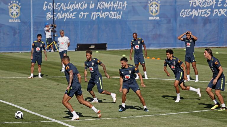 Бразилия излиза с трима нападатели в първия си мач от Мондиал 2018