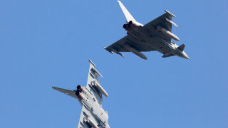 Изтребител на НАТО изстреля ракета над Естония по погрешка