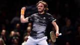 Стефанос Циципас срази Александър Зверев и е на 1/2-финал в Лондон