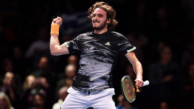 Гръцкият тенисист Стефанос Циципас стана вторият сигурен полуфиналист на финалния