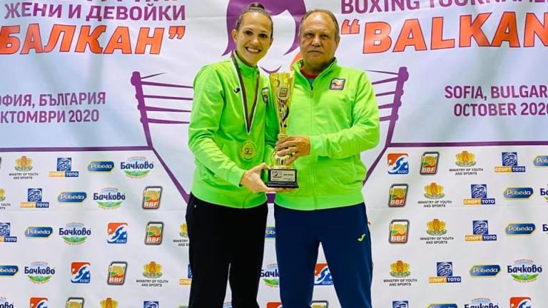 Станимира Петрова намери много подходящ спаринг партньор, по-малко от месец