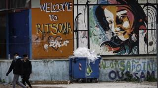 Гърция изгражда бетонни стени около бежанските лагери