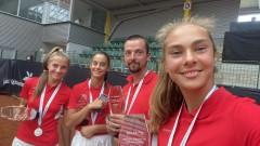 Капитанът на световните вицешампионки: Те са бъдещето на женския ни тенис