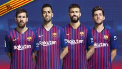 Барселона обяви капитаните си за новия сезон