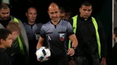 Валентин Железов ще свири Левски - Лудогорец